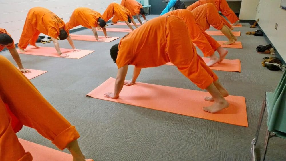Yoga Behind Bars Offers Inmates a Way to De-Stress and Rehabilitate